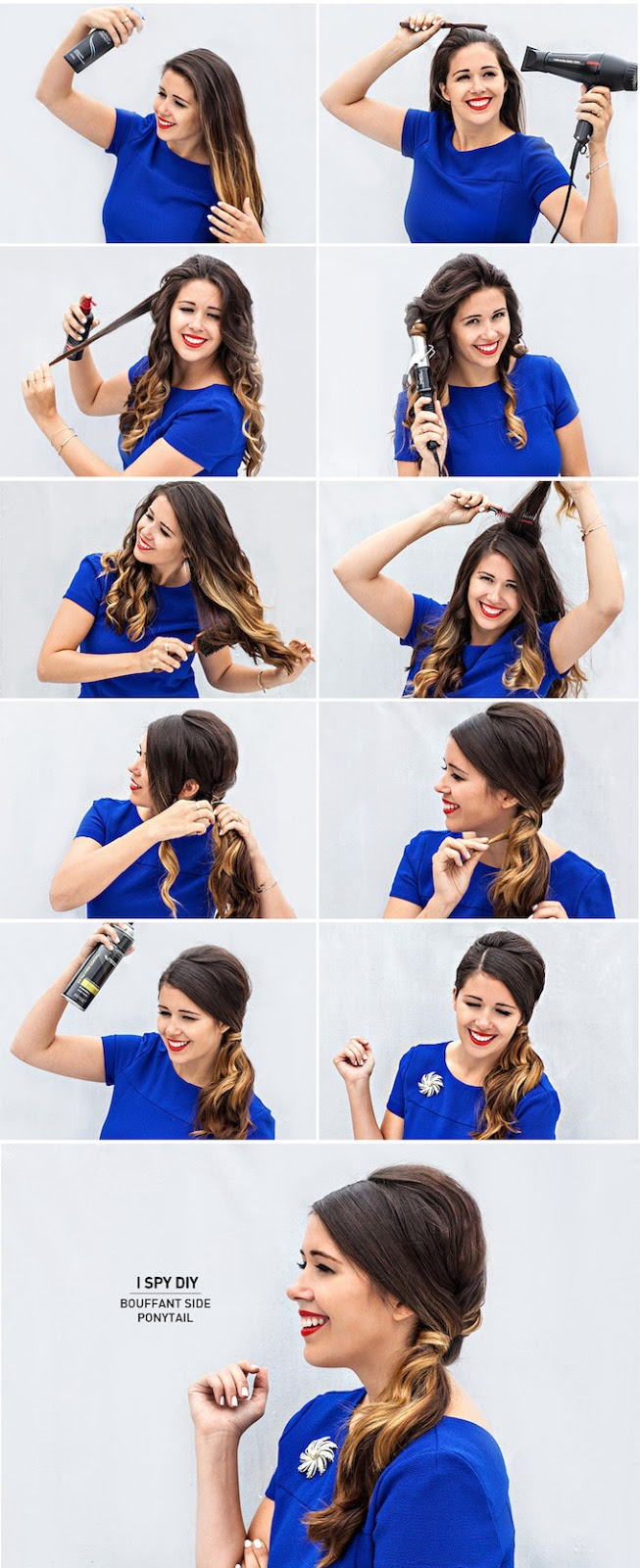 15 cute and easy ponytails ispydiybouffanthair5 ispydiybouffanthair5 categorieshair style tags diy solutioingenieria