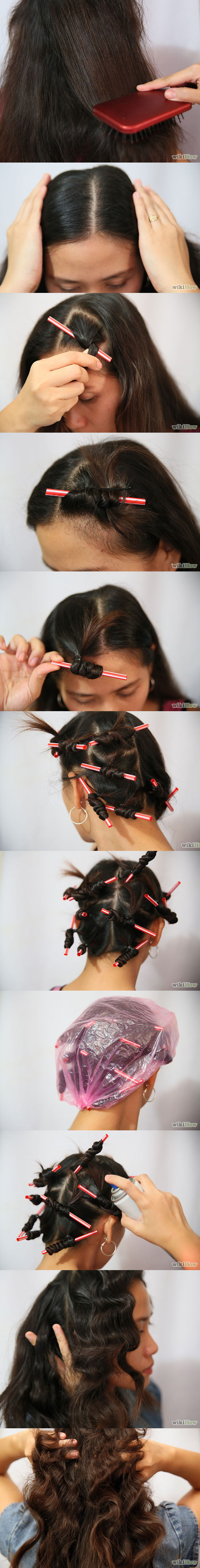 straw hairstyle