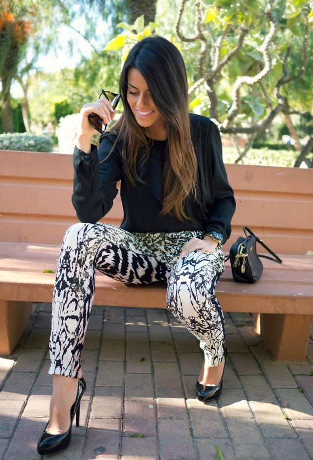 How To Wear Animal Print With Sophistication
