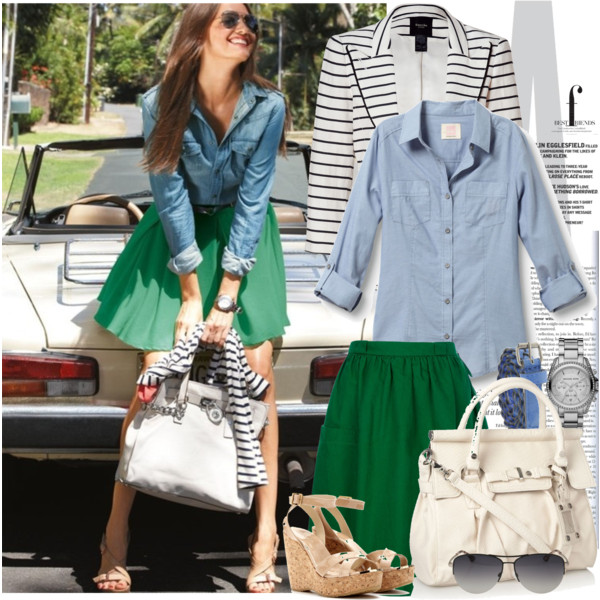 THE NEW LOOKS FOR SPRING – 29 POLYVORE COMBINATIONS