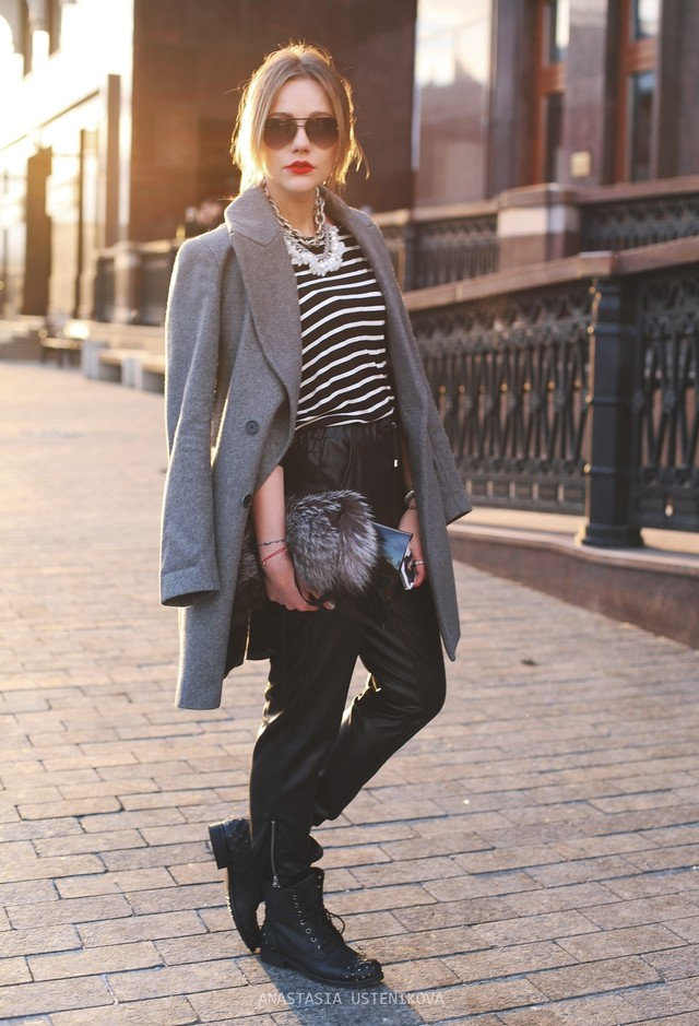 Fashion Tips: 17 Ways To Wear Stripes In Winter