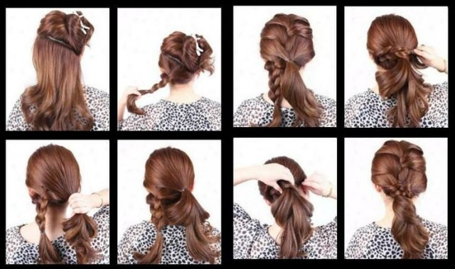 Pleasant 15 Simple Step By Step Hairstyles Hairstyle Inspiration Daily Dogsangcom