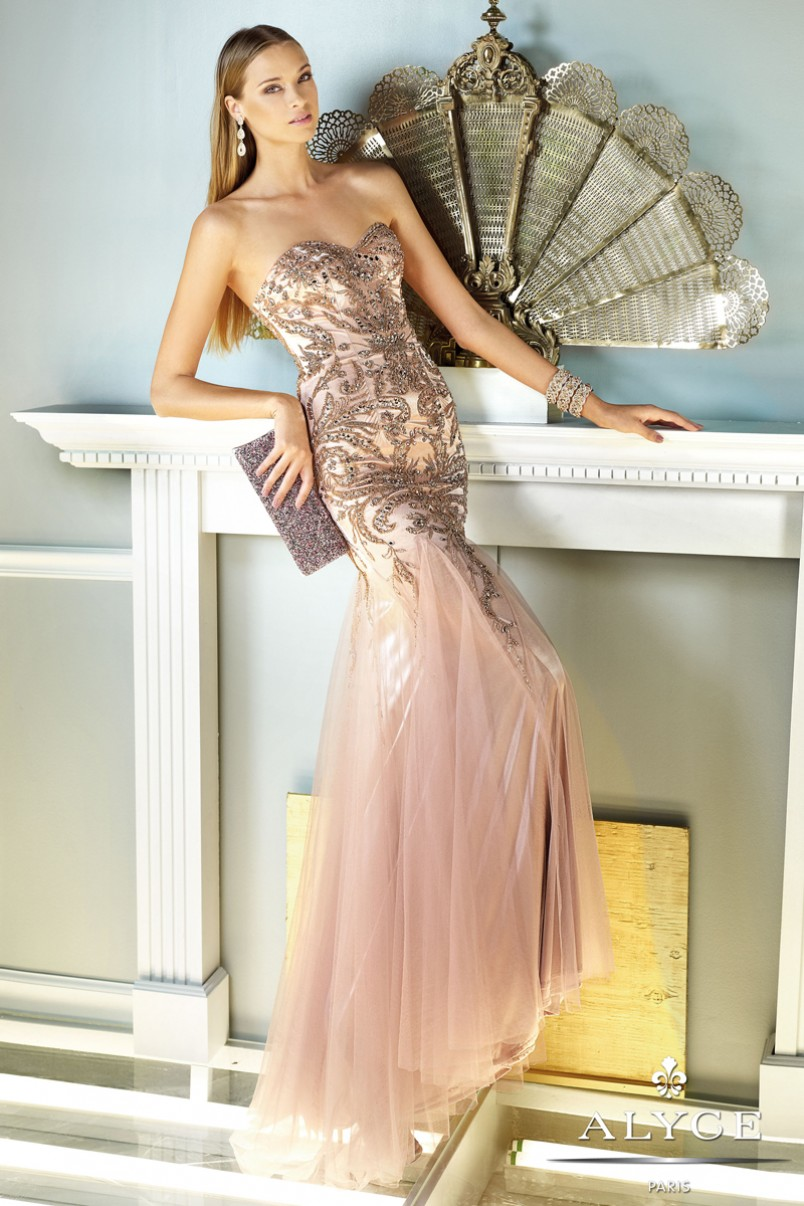 Nothing Spells Luxury Like Alyce Paris – Marvelous Evening Dresses