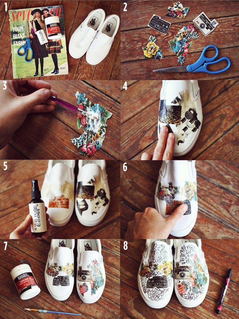 14 DIY Sneakers Ideas