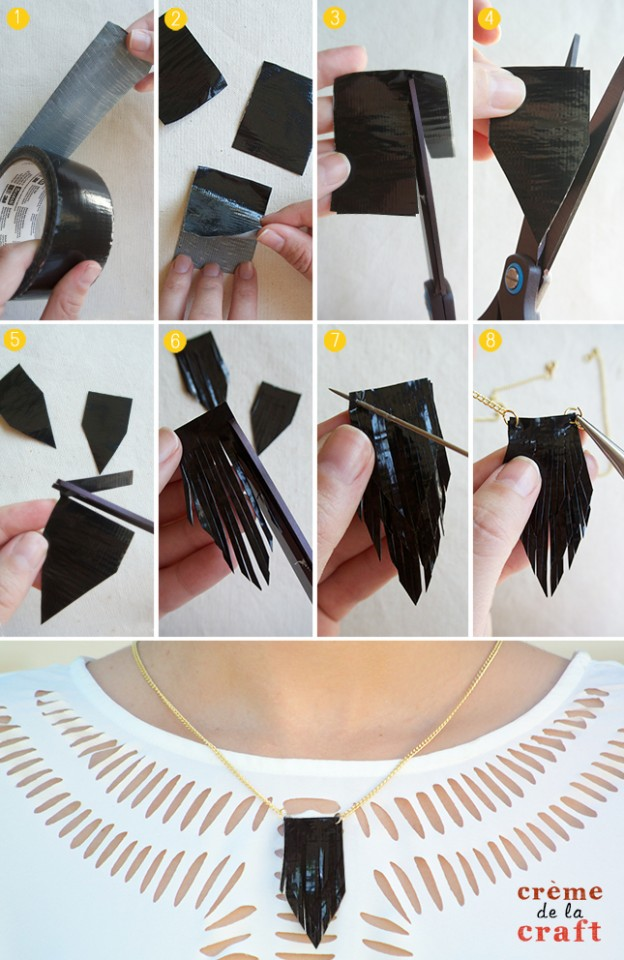 DIY-How-To-Make-Duct-Tape-Kids-Crafts-Projects-Necklaces-Jewelry-Fashion-Idea-Tutorial-Blog