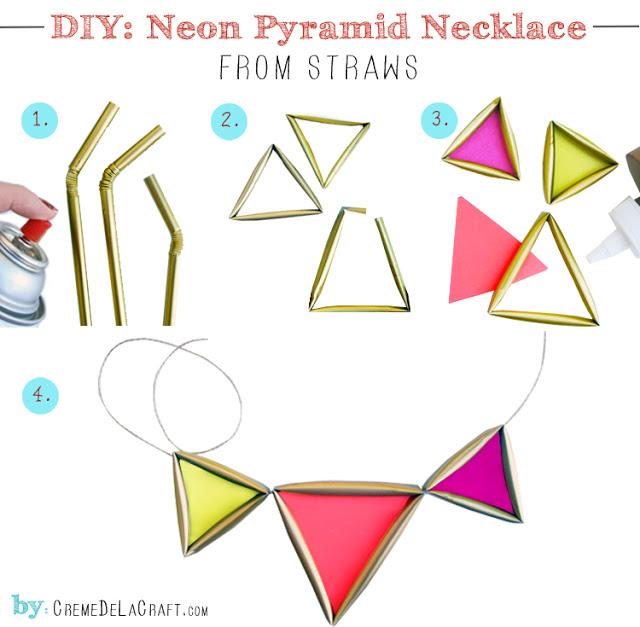 DIY-Project-Straw-Trianlge-Geometric-Necklace-Tutorial-Creme-de-la-Craft