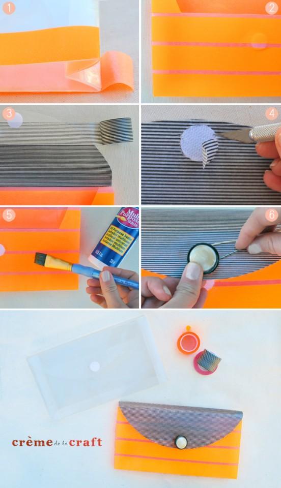 DIY-Washi-Tape-Clutch-Purse-Fashion-Craft-Project