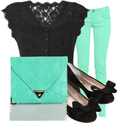 Fashion Combinations in Mint Green_12