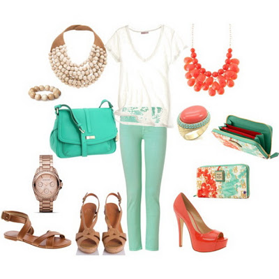 Fashion Combinations in Mint Green_13