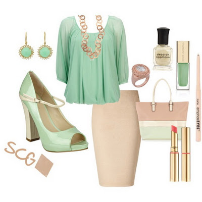 Fashion Combinations in Mint Green_6