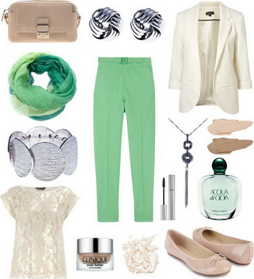 Fashion Combinations in Mint Green_7