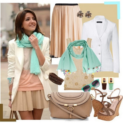 Fashion Combinations in Mint Green_8