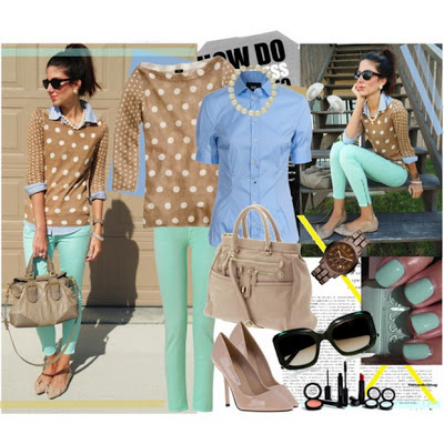 Fashion Combinations in Mint Green_9