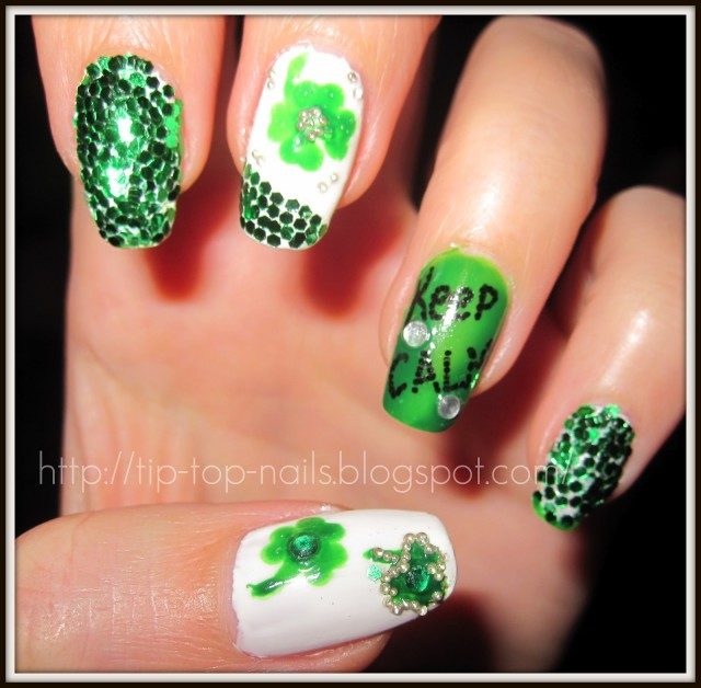 17 St. Patricks Day Nail Ideas