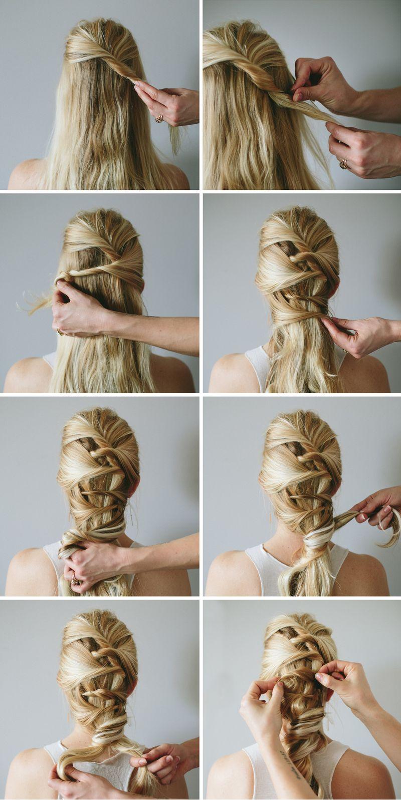 Marvelous Steps Of Hair Braiding Braids Short Hairstyles Gunalazisus