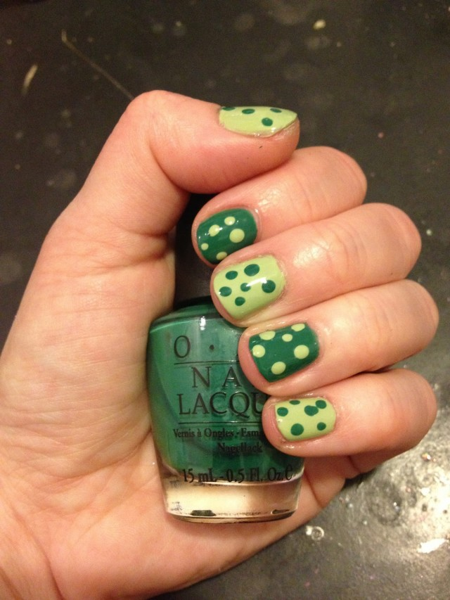 St.-Patrick's-Day-Manicure-Essie-Navigate-Her-OPI-Jade-Is-The-New-Black-Nail-Polish-Jamie-Allison-Sanders-The-Beauty-Of-Life
