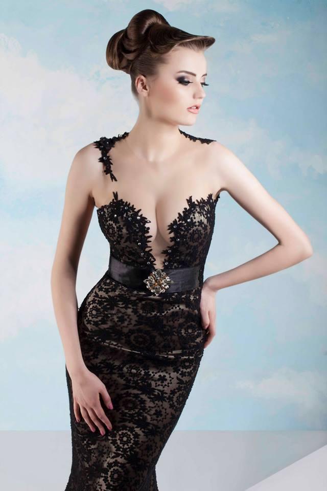 Fabulous Evening Dresses by Tony Chaaya – Spring/Summer 2014