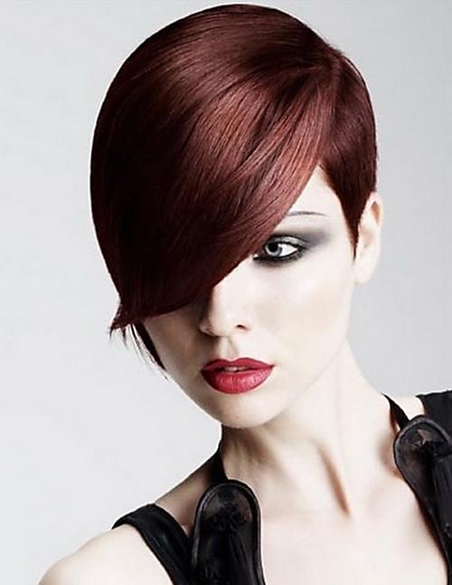 Trendy-short-haircut-with-bangs