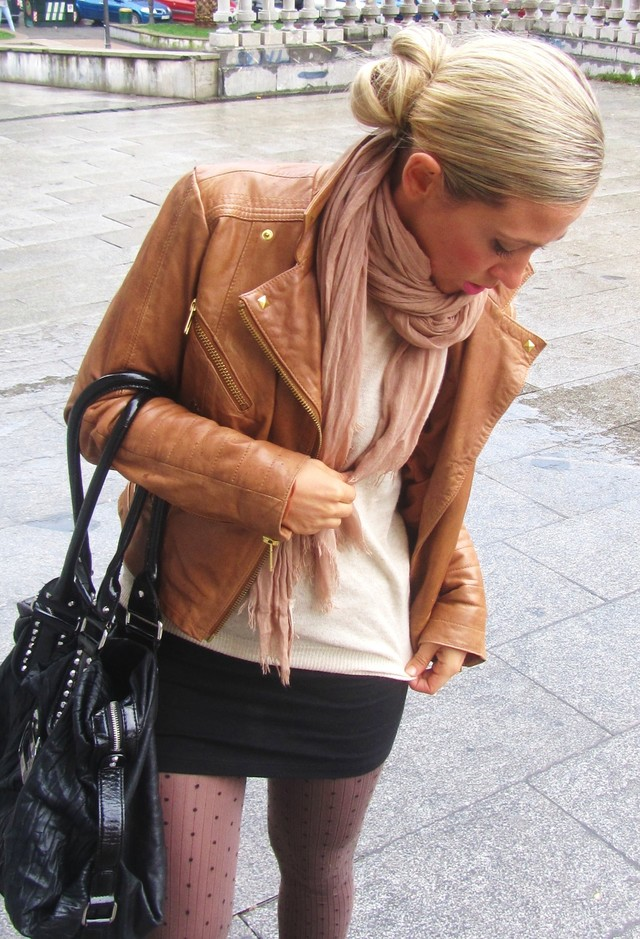 14 Ways To Wear Brown Leather Jacket