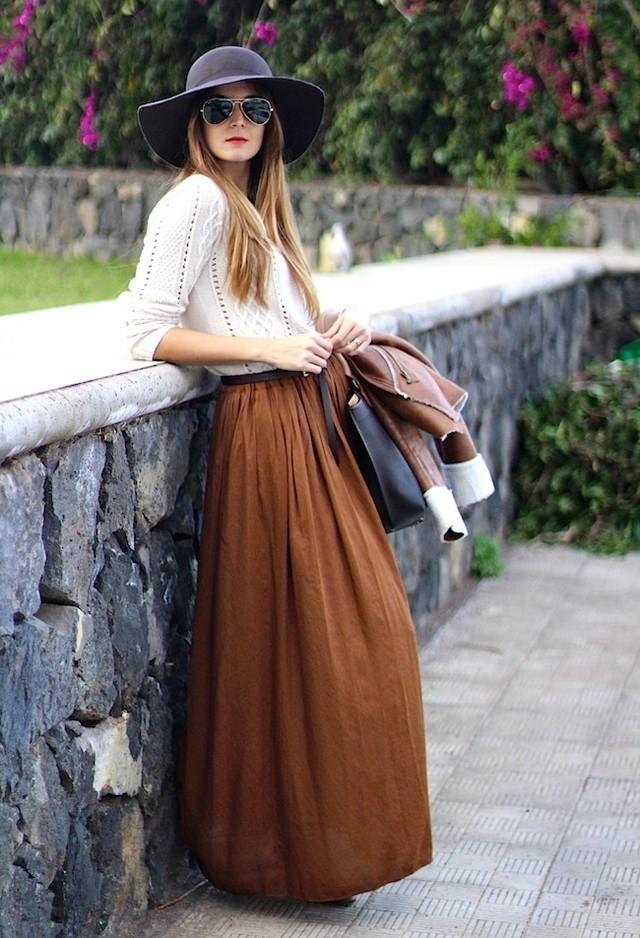 brave fashion style long skirt style