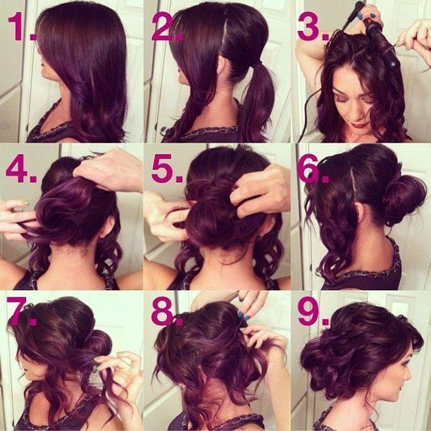 Phenomenal 15 Simple Step By Step Hairstyles Short Hairstyles Gunalazisus