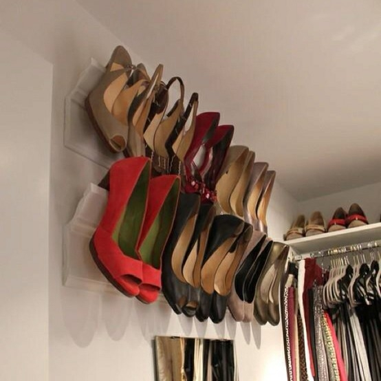 Creative Ways To Maximize Closet Space By DIY - Fashion Diva Design