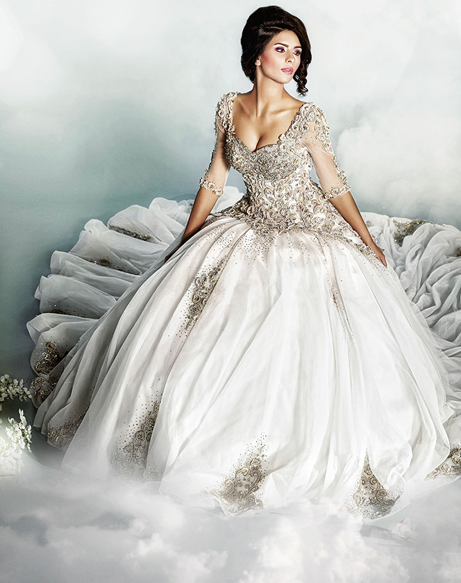 Dar Sara Wedding Gowns 2014
