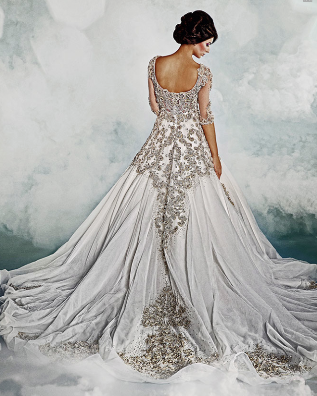 Image Via Modwedding Dar Sara Wedding Dresses 20 123113