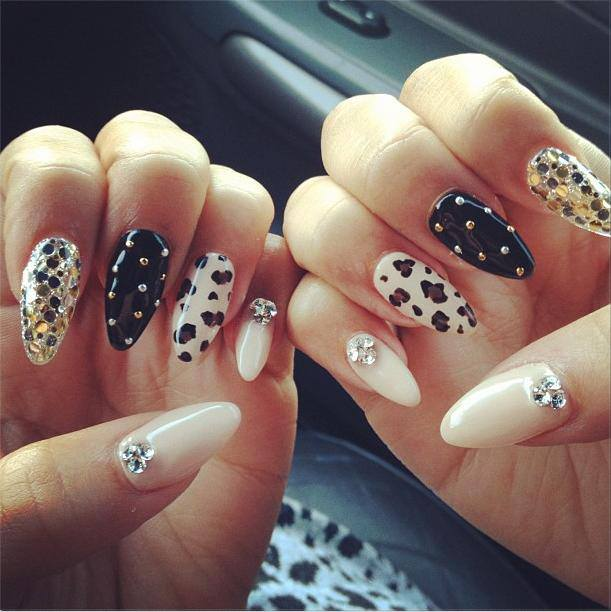 These Days It's All About Stiletto Nails