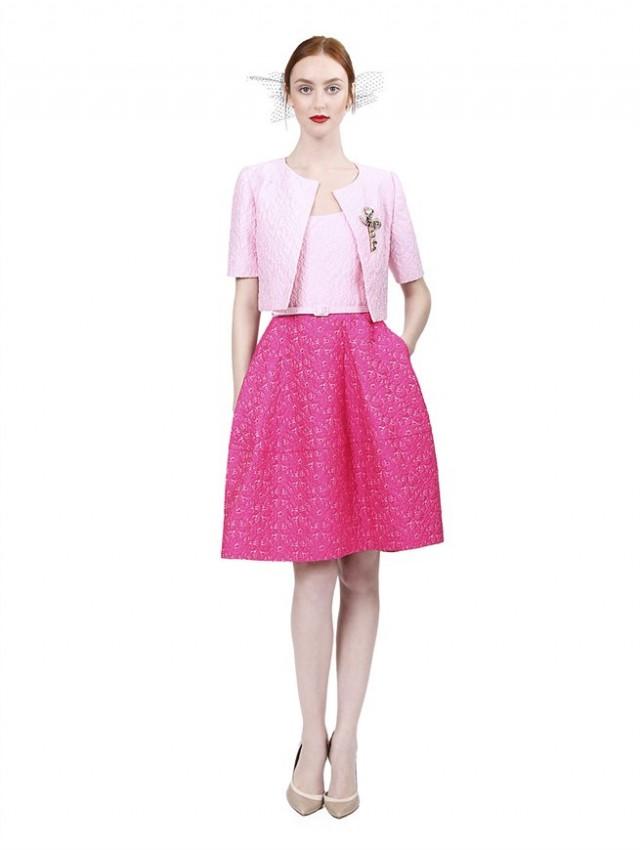 High Fashion Event Dressing By Oscar De La Renta
