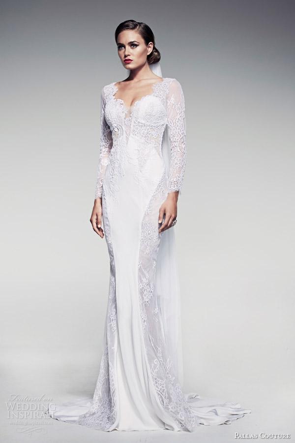pallas-couture-bridal-2014-fleur-blanche-caressa-long-sleeve-sheath-wedding-dress