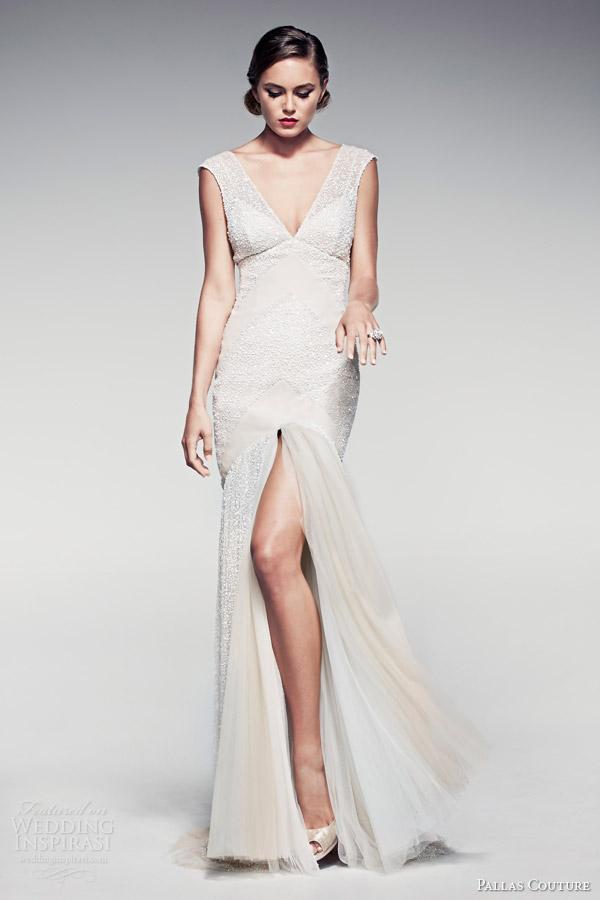pallas-couture-bridal-2014-fleur-blanche-sleeveless-wedding-dress-slit