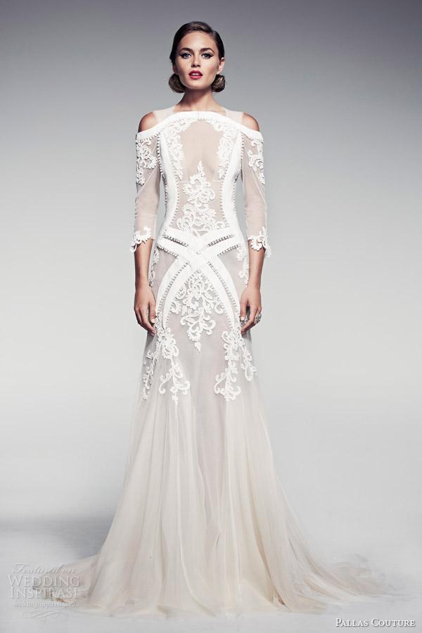 Image Via Inspirasisongketaffairs Pallas Couture Bridal 2017 Fleur Blanche Voelle Wedding