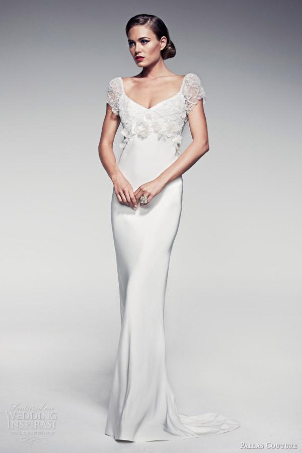 pallas-couture-wedding-dresses-2014-fleur-blanche-bridal-maiya-short-sleeve-sheath