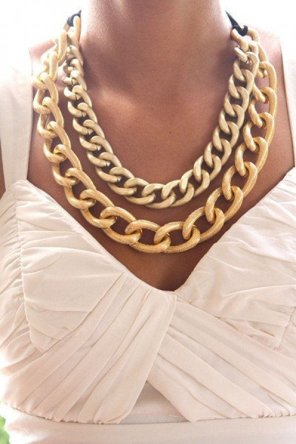The Statement Necklace Can Be A Real Eye-Catcher
