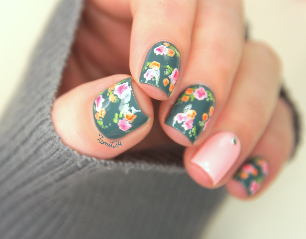 21 vintage floral nail designs prinsesfo Image collections
