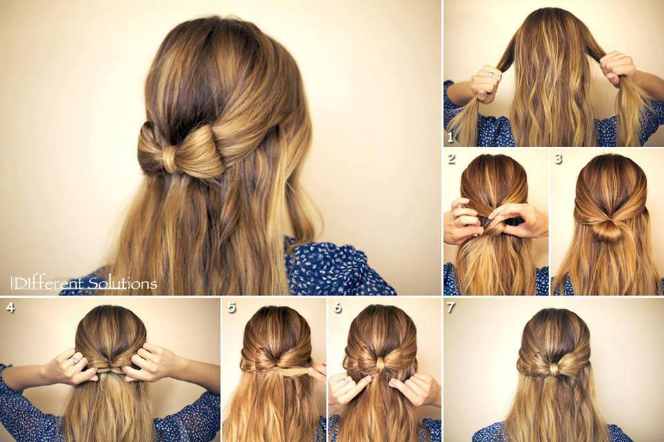 Easy to make hairstyles at home.
