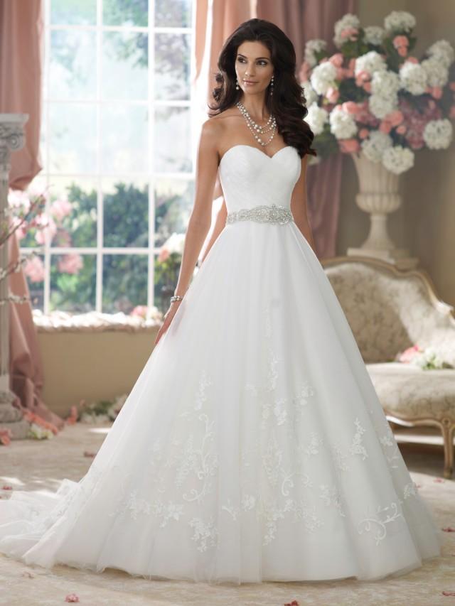 Wedding Gowns By David Tutera For Mon Cheri Fall 2014