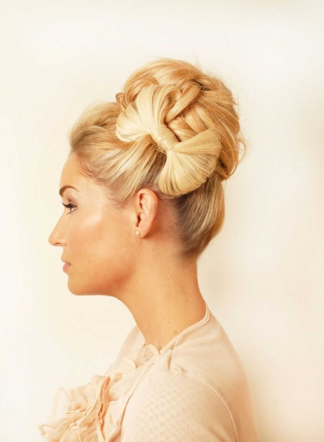How To Make A Bow Hairstyle