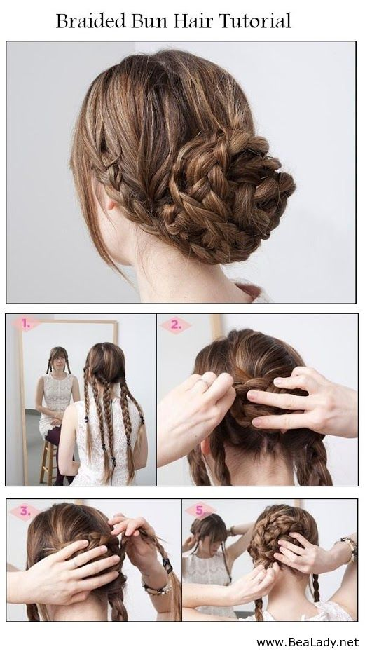 Braided+Bun+Hair+Tutorial