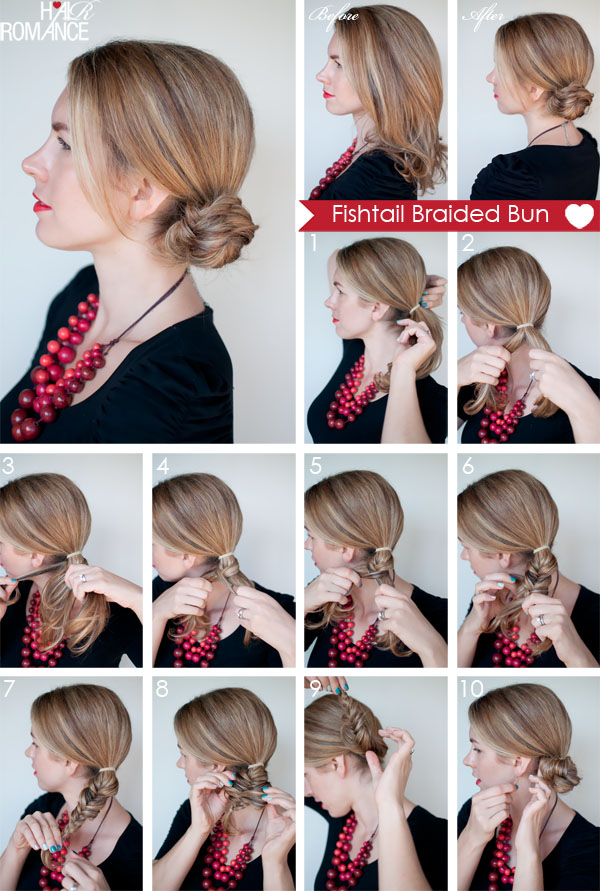 Hair-Romance-Fishtail-braided-bun-tutorial