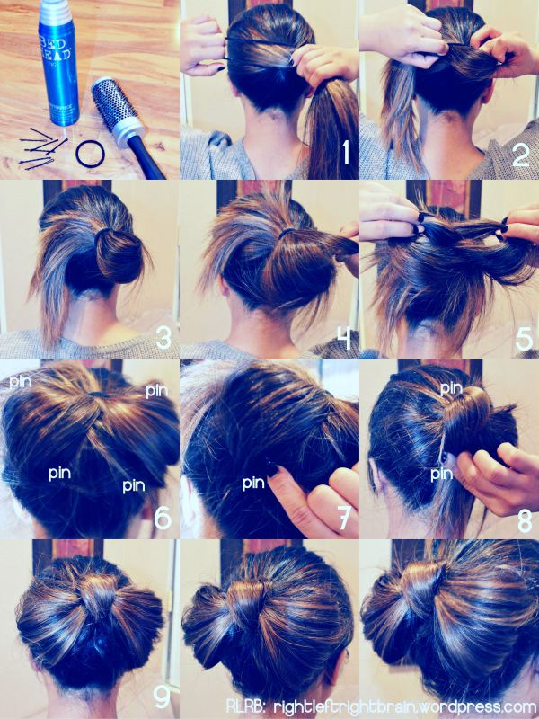 Incredible How To Make A Bow Hairstyle Short Hairstyles Gunalazisus