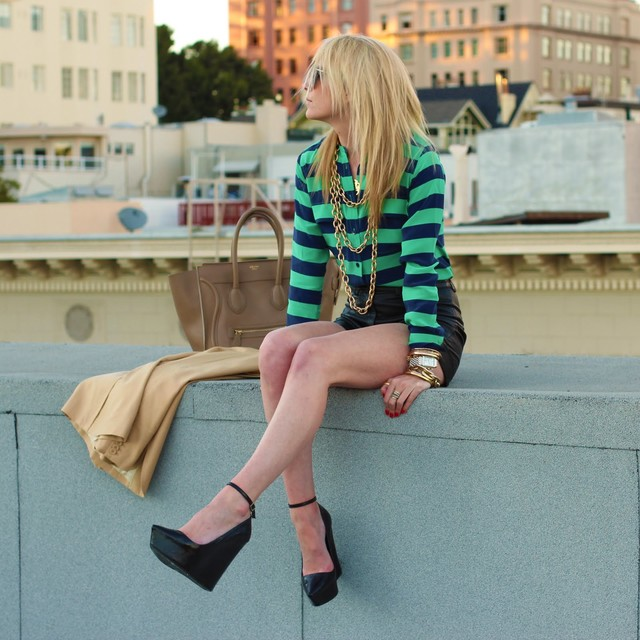 How To Wear Stripes This Spring