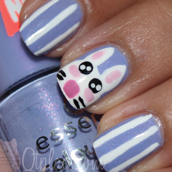 15 Adorable Easter Nail Designs With Bunnies