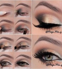 golden-makeup