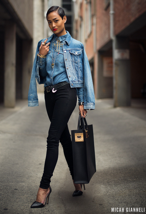 18 Ways To Wear A Denim Jacket