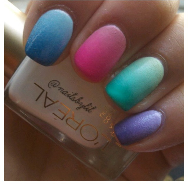 Ombre nails memes for What is ombre design