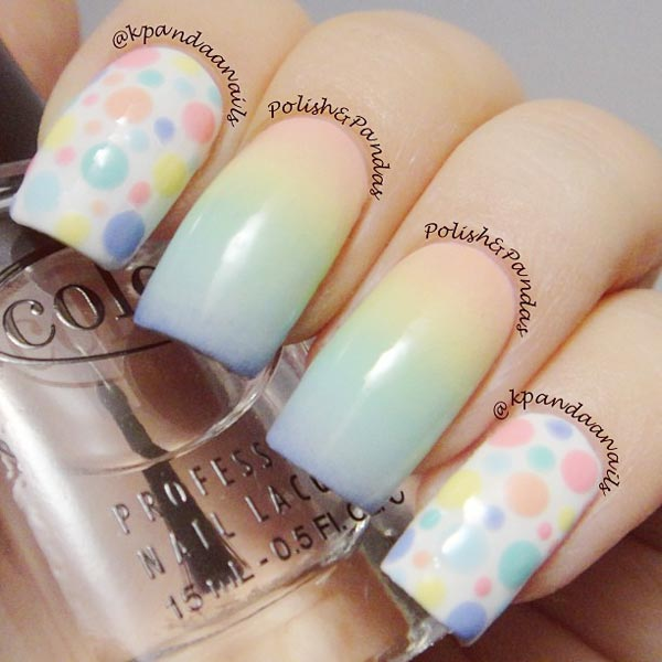 pastel-dots-gradient-easter-nails