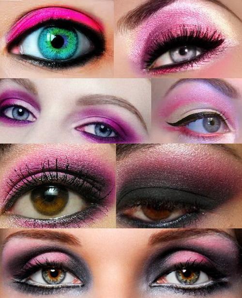 pink-eye-makeup-for-spring-summer