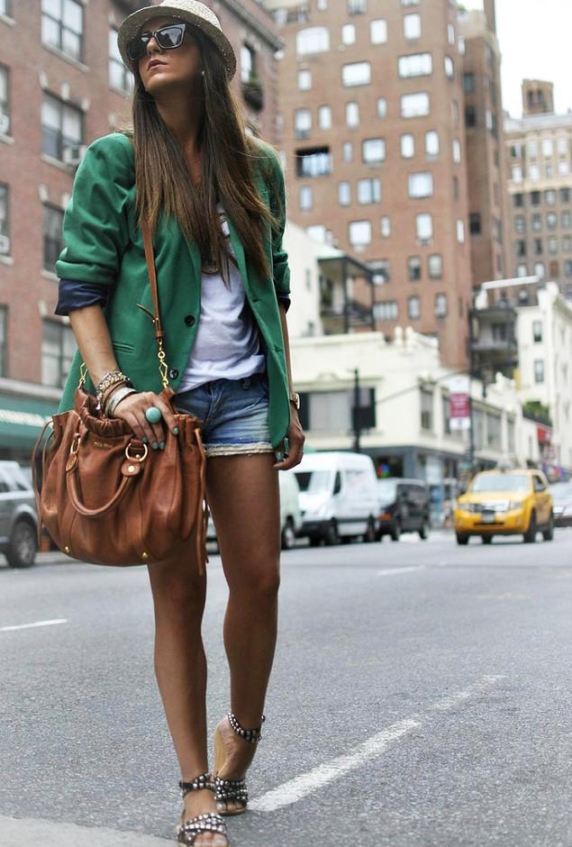 18 elegantes roupas com longas Blazers